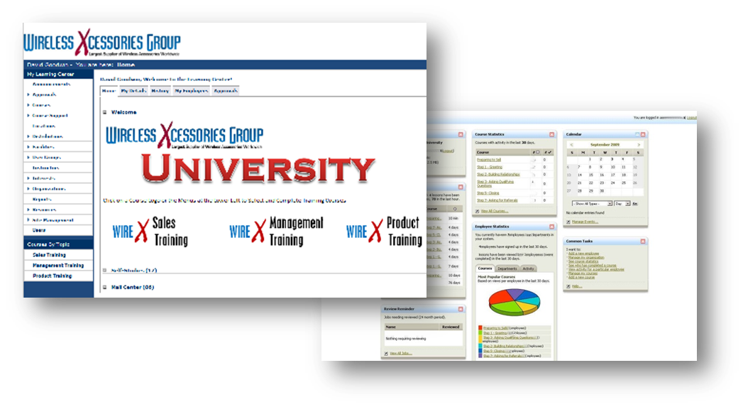 Retail University Training Portals