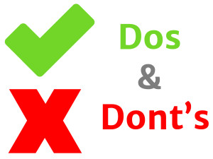 do's and don'ts of retail marketing